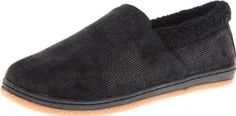 L.B. Evans Men's Charlie Slipper L.B. Evans. $43.28. Distressed corduroy fabric upper and suede trim. Manmade sole. Sherpa faux fur lining. Faux Fur. Corduroy Fabric