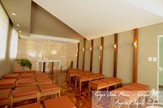 Capela  Colégio Santa Maria - Cascavel Paraná Arquitetura Sacra + Arquitetura Escolar Projeto: Isabella Dalfovo Arquitetura