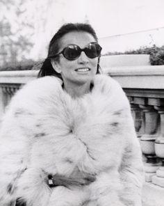Fur!! Lee Radziwill, 1972