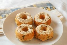 Goat Cheese and Scallion Baked Donuts