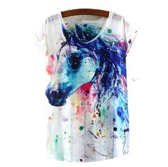 Beautiful Trendy Hipster Horse Graphic Tee Shirt, All sizes Horse Shirt, Super cute trendy one size fits most shirt! I love it!! You go head girl and rock it!!