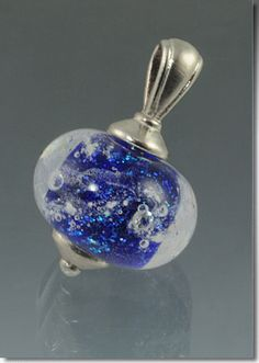 Hand Blown Cremation Glass Jewelry Urn Remembrance