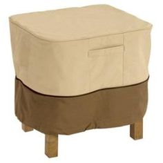 Classic Accessories - 70972 - Veranda - Square Ottoman / Side Table Cover * Pinterest Friends Only: Save 10% on everything on PatioProductsUSA.com with #coupon code PIN10 *