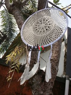 Crochet #Dreamcatchers at Affordable with custom bottom on request check this out