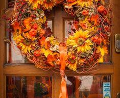 Gardening, Wreaths, Fall, Home Decor, Fall Season, Autumn, Decoration Home, Door Wreaths, Room Decor