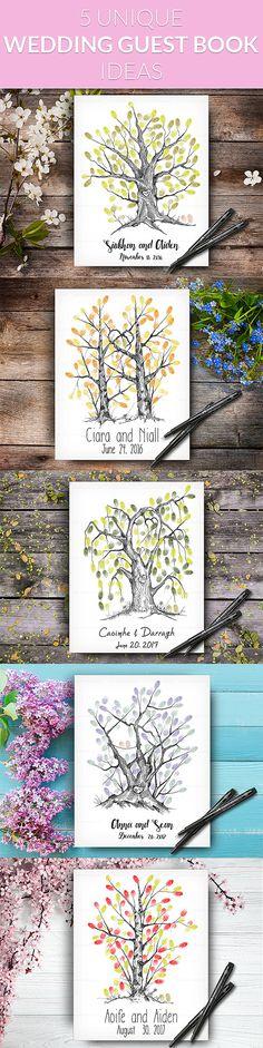 Ideas For Wedding Guest Book Tree Ideas