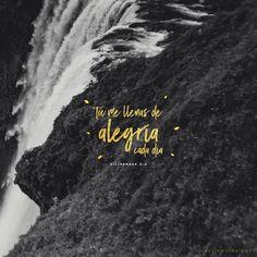 Filipenses 4:4 Regocijaos en el Señor siempre. Otra vez digo: !!Regocijaos!