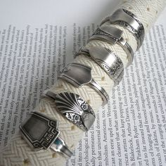 Awesome napkin rings