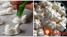Cukrár poradil recept na dokonalé snehové pečivo – perfektne drží a vytvarujte z neho všetko: Tieto pusinky sú hotové umelecké diela!