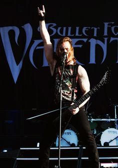 Matthew Tuck from Bullet For My Valentine