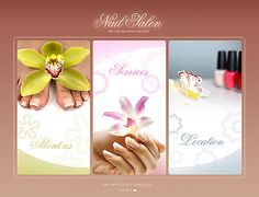 Nail Salon Flash Templates by Delta