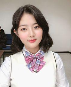 Jyp Trainee, Jeon Somi, Aesthetic Hair, Korean, Chara, Korean Language