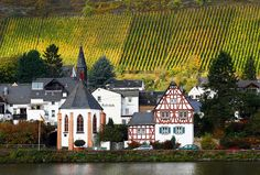 Along the Mosel River between Koblenz and Cochem