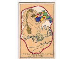 jwd19e: RARE GORGEOUS BERTOLD LÖFFLER/LÖ MERMAID FANTASY 1913 POSTCARD #A21 | eBay Mermaid, Fantasy, Ebay, Art, Art Background, Kunst, Fantasy Books, Performing Arts, Fantasia