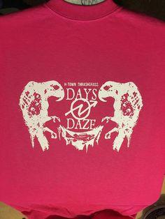 Days N' Daze: Birds PINK *SMALL* Punk Shirt