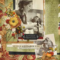 Dinner Party Collection Biggie, designed by Brandy Murry, Scrap Girls, LLC digital scrapbooking product designer