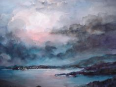 """""""""""Blue Evening"""""""" by Millie Gift Smith"""