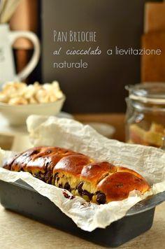 Pan brioche al cioccolato a lievitazione naturale | Cucina Scacciapensieri