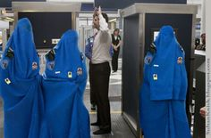 No TSA Patdowns for Muslim Brotherhood Members Traveling to US. So they do not know who is under there but they strip search old ladies and little girls in wheel chairs.  Oh I forgot who our President is, never mind.