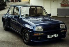 Renault 5 Turbo 2.    80's mid engined madness from the French.
