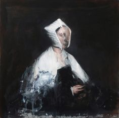 The paintings of Italian artist, Nicola Samori, are full of sensuous energy. Figure Painting, Painting & Drawing, Scary Art, Expressive Art, High Art, Modern Artists, Italian Artist, Contemporary Paintings, Art And Architecture