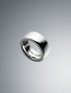 David Yurman Men's Wedding Band