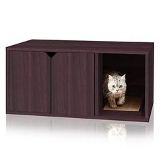Concealed Cat Litter Box Modern Cat Furniture, Classic Furniture, Furniture Design, Deco Furniture, Best Litter Box, Hide Litter Boxes, Cat Litter Box Enclosure, Cat Toilet, Owning A Cat