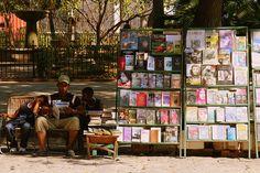 Book Seller in Havana