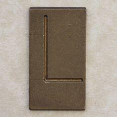 Brass Letter L by Leo Reynolds, via Flickr