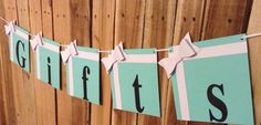 Breakfast at Tiffany's Gifts Banner by BASHPartyCo on Etsy