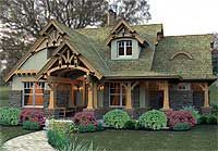 Rustic Look With Detached Garage