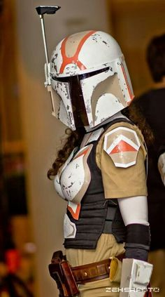 Vhe Mandalorian - Star Wars Cosplay - Star Wars Cosplay news - - Star Wars Mädchen, Star Wars Girls, Stormtrooper, Darth Vader, Amazing Cosplay, Best Cosplay, Cosplay Style, Boba Fett, Costume Manga
