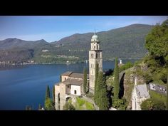 Swiss Town of Morcote in Morcote, Switzerland San Francisco Ferry, Switzerland, Destinations, Building, Youtube, Travel, Locarno, Viajes, Buildings