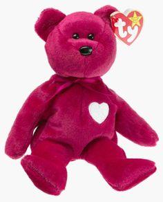 Ty Beanie Babies - Valentina the Bear Happy Hug and Kiss from Cuddly Soft  Bear a2f33ca82124