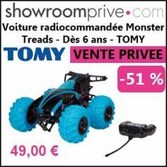 #missbonreduction; Vente privée : 51 % de réduction sur la Voiture radiocommandée Monster Treads - Dès 6 ans - TOMY chez Showroomprive. http://www.miss-bon-reduction.fr//details-bon-reduction-Showroomprive-i853029-c1836795.html