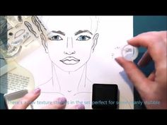 Paperbabe Stamps Doll Face Steps - YouTube