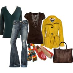 """Untitled #173"" by cswope on Polyvore - not the shoes or scarf"