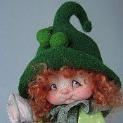 """Куклы и игрушки ручной работы. Ярмарка Мастеров - ручная работа """"Горошинка Пиа"""". Handmade."""
