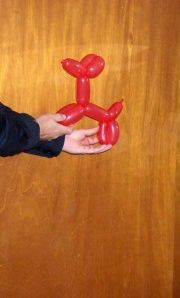 Learn how to make balloon animals!