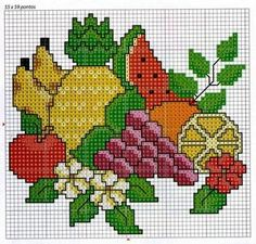 1 million+ Stunning Free Images to Use Anywhere Cross Stitch Fruit, Cross Stitch Kitchen, Cross Stitch Baby, Counted Cross Stitch Patterns, Crewel Embroidery, Cross Stitch Embroidery, Embroidery Designs, Free To Use Images, Cross Stitch Pictures