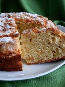 Aunque esta receta llega con un día de retraso pues ayer fue St Patrick's  (San Patricio), Patrón de Irlanda  (de esta manera tambien conmem... Apple Pie Recipes, Apple Desserts, Irish Recipes, Sweets Recipes, Cake Recipes, Irish Cake, Irish Apple Cake, Bunt Cakes, Cupcake Cakes