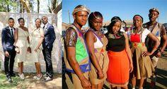 See Thobekile and Mathunzini's Real Wedding