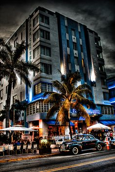 Park Central hotel, in the historic Art Deco District of South Miami Beach, by Josh Bozarth Photography