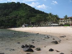 Tri Trang Beach in Phuket . Check out more about  The Ultimate Guide to Phuket Beaches .  http://www.theluxurysignature.com/2015/10/01/the-ultimate-guide-to-phuket-beaches-part-2/