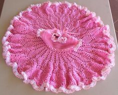 Pink Parfait Dress by Love2Crochet | Pattern can be found at...http://www.epatternscentral.com/detail.html?prod_id=3808&cat_id=&criteria=Beautiful+Baby+Boutique