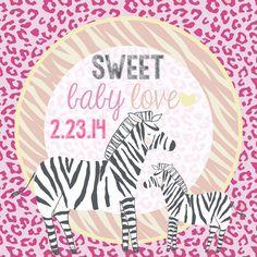 stickers, zebra stickers, baby shower decor, zoo baby shower