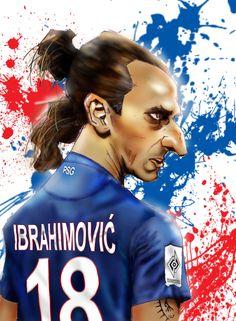 Pendant ce temps, Zlatan Ibrahimovic se met au parfum