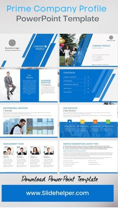 Professional Powerpoint Templates, Microsoft Powerpoint, Professional Services, Business Presentation, Company Profile, Business Logo, The Help, Graphic Design, Company Profile Design