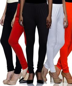 d45fcd4f Multi Color Cotton Lycra Leggins - SR-L101102103109107. Zinnga · Tops &  Leggings