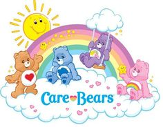 Care Bears: Tenderheart, Grumpy, Best Friend & Cheer Bear